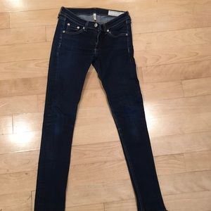 Rag and Bone skinny jeans 25 heritage